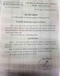 Hà Tĩnh: Đình chỉ 6 tháng nhà báo có hành vi dọa dẫm trường học