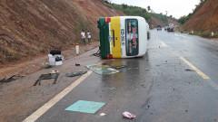 Kon Tum: Tai nạn xe buýt, 6 người thương vong