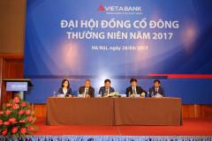 VietABank tổ chức thành công ĐHĐCĐ thường niên năm 2017