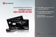 SeaBank ưu đãi cho khách hàng mở thẻ Mercedes Platinum