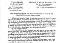 Huyện Thanh Trì (Hà Nội): Xử lý các sai phạm do báo chí nêu tại khu ĐTM Cầu Bươu