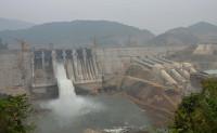 Phát điện tổ máy 3 - Công trình thủy điện Trung Sơn