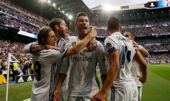 Bán kết lượt đi Champions League: Ronaldo lập hat-trick, Real hạ đẹp Atletico Madrid