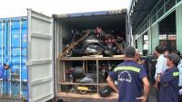 Phát hiện container chứa hàng nghìn thiết bị điện tử