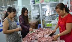 Đồng Nai giải cứu gần 140 tấn thịt heo trong 1 tuần