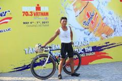 Nhà vô địch Challenge Việt Nam chinh phục thử thách tại Ironman 2017