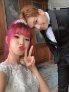 Khởi My thực hiện bộ ảnh cưới tại xử sở Kim Chi