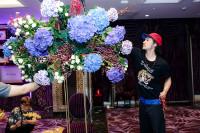 Không gian tiệc tri ân ngập tràn hoa tươi của Mr Đàm