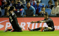 La liga: Thắng dễ Celta Vigo, Real chạm 1 tay vào chức vô địch La Liga
