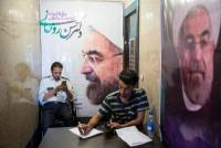 Chùm ảnh: Cử tri Iran sẵn sàng bỏ lá phiếu quyết định vận mệnh khu vực