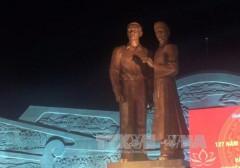 Bình Định: Khánh thành công trình tượng đài Nguyễn Sinh Sắc – Nguyễn Tất Thành