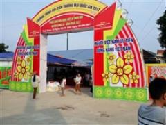 Vĩnh Phúc: Đưa hàng Việt về 2 huyện miền núi của tỉnh
