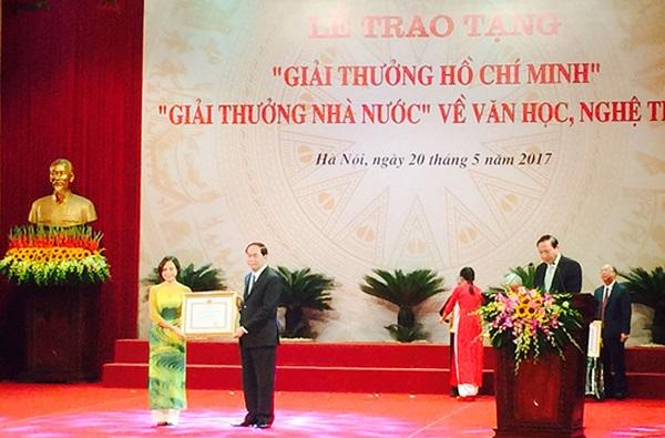 Trao tặng Giải thưởng Hồ Chí Minh, Giải thưởng Nhà nước về Văn học nghệ thuật - Hình 1