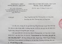 Vụ Ngân hàng Vietcombank-Bài 3: Ngân hàng phản hồi thông tin bạn đọc phản ánh