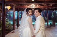 Xôn xao ảnh cưới của cặp đôi Trường Giang – Nhã Phương