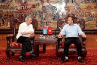 Đoàn đại biểu Đảng Cộng sản Cuba thăm và làm việc tại Vĩnh Phúc