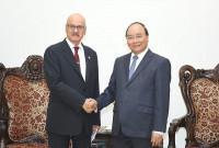Thủ tướng Nguyễn Xuân Phúc tiếp Tổng giám đốc OFID
