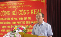 Phú Thọ: Công bố quy hoạch bảo tồn và phát huy giá trị Khu di tích lịch sử Đền Hùng