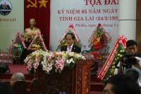 Kỷ niệm 85 năm Ngày thành lập tỉnh Gia Lai