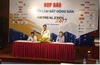 Hội chợ Triển lãm BĐS VN (Vietreal Expo 2017) sẽ quy tụ gần 200 gian hàng của các DN