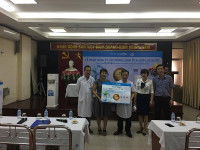 Karofi tặng 21 cây nóng lạnh tích hợp lọc nước cho bệnh nhân Bệnh viện Mắt Trung ương