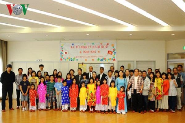 Tổng kết 1 năm lớp học tiếng Việt – Nhật ở Kobe