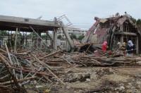 Tây Ninh: Sập công trình xây dựng 7 người bị thương nhập viện