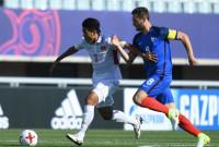 World Cup U20: Đình Trọng nhận thẻ đỏ, U20 Việt Nam thất bại toàn diện trước U20 Pháp