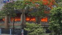 Cháy lớn tại Công ty LS-Vina cable Hải Phòng