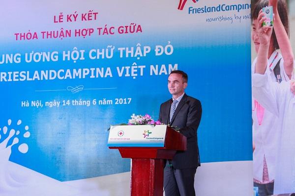 Hội chữ thập đỏ Việt Nam và Frieslandcampina Việt Nam ký kết thỏa thuận hợp tác - Hình 3