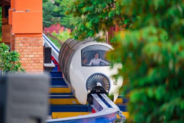 Tàu điện một ray Monorail trên cao hiện đại bậc nhất Việt Nam