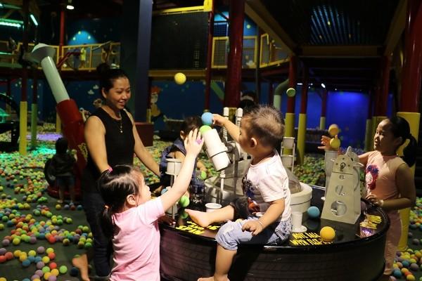 Khu Soft-Play trong khuôn viên Sun World Danang Wonders