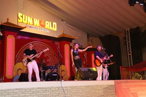 Những màn biểu diễn âm nhạc tại Sun World Danang Wonders