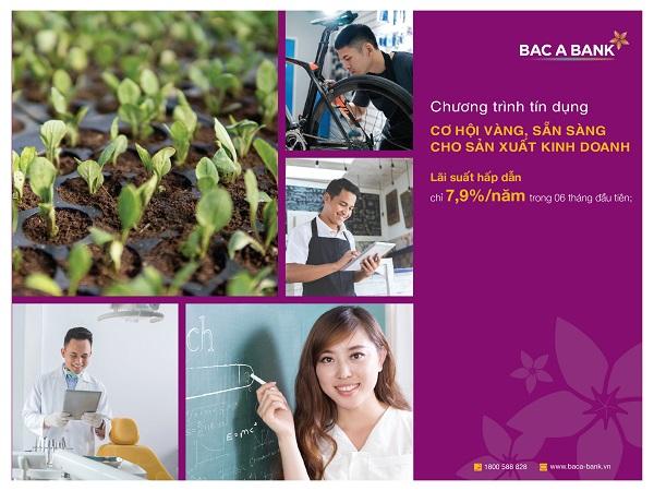BAC A BANK sát cánh cùng khách hàng cá nhân trong sản xuất - kinh doanh - Hình 1