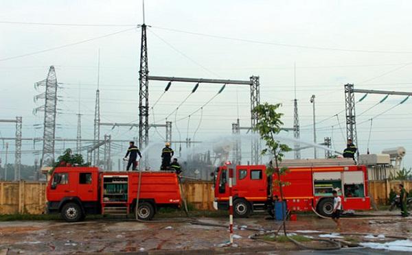 Thông tin về vụ hỏa hoạn tại trạm biến áp 110kV Yên Bình 2, Thái Nguyên - Hình 1