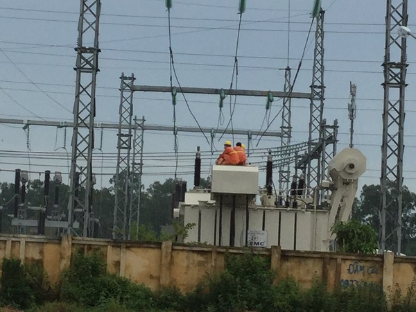 EVNNPC cấp điện lưới cho toàn bộ phụ tải Samsung Thái Nguyên - Hình 1