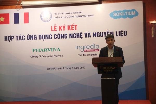 Ký kết Hợp tác ứng dụng CN&NL giữa CT CP Dược phẩm Pharvina và Tập đoàn lngre - Hình 4