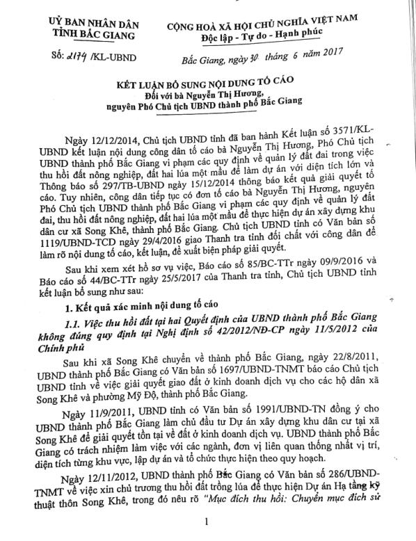 """""""Dính"""" sai phạm, Phó chủ nhiệm UBKT Tỉnh ủy Bắc Giang bị kiến nghị kiểm điểm - Hình 2"""