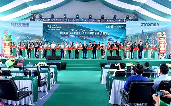 Tân Á Đại Thành: Khánh thành NM ống nhựa công nghệ Đức tại Long An - Hình 1