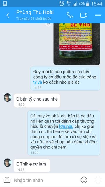 Tinh dầu tràm Bé Thơ (Huế) bị làm giả ở Hà Nội - Hình 4