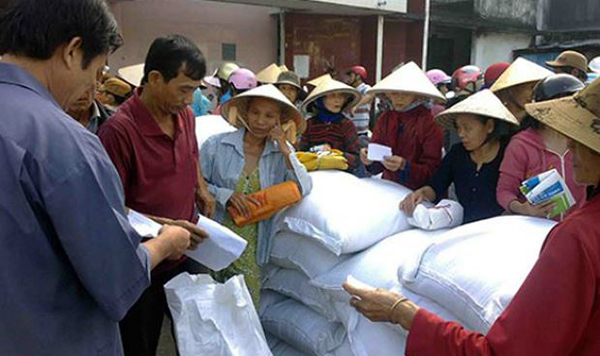 Quảng Trị: 200 tấn gạo của Chính phủ hỗ trợ đến với người dân vùng bị thiên tai - Hình 1