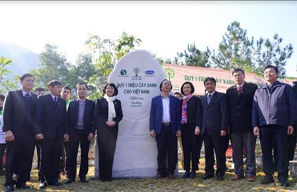 Hành trình về nguồn của Vinamilk và quỹ 1 triệu cây xanh tại tỉnh Cao Bằng - Hình 2