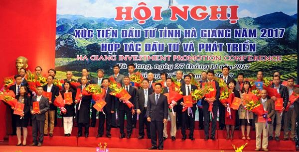 Công ty CP Sao Thái Dương: Tham gia xúc tiến đầu tư tại Hà Giang 2017 - Hình 1