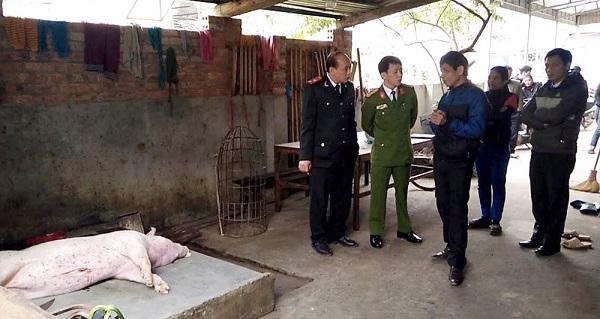 Phú Thọ: Phát hiện cơ sở giết mổ lợn chết bán ra thị trường - Hình 1