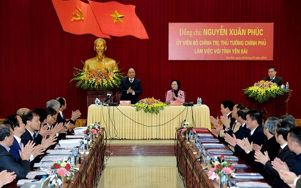 Thủ tướng Nguyễn Xuân Phúc: Yên Bái phải xã hội hóa mạnh mẽ nguồn lực - Hình 2