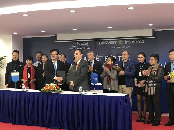 Bảo hiểm Bảo Việt ký kết hợp tác cùng NCB - Hình 1