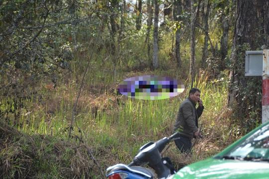 Lâm Đồng: Một thi thể nữ cháy đen dưới rừng thông - Hình 1