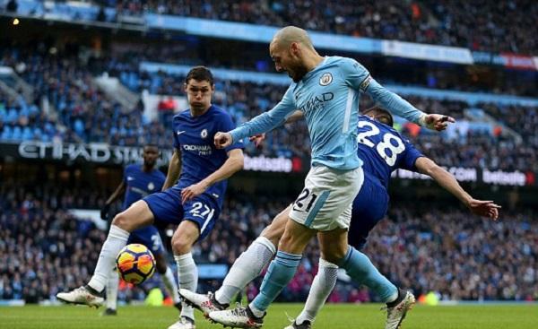 Đánh bại Chelsea, Man City tiến sát ngôi vương - Hình 1
