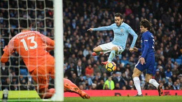 Đánh bại Chelsea, Man City tiến sát ngôi vương - Hình 2
