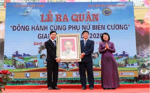 """Lạng Sơn: Lễ ra quân """"Đồng hành cùng phụ nữ biên cương"""" - Hình 2"""